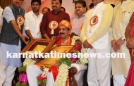 Felicitation To MP Nalin Kumar Kateel in Mangaluru