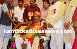 Felicitation To MP Nalin Kumar Kateel in Mangaluru