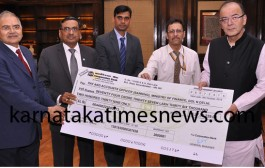 CORPORATION BANK PAYS Rs.74.27 crore dividend to Govt of India