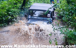 Nature Riders  4X4 off-road Rally  at Belthangady.