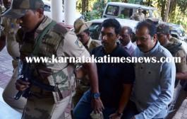 Gangster Bannanje Raja brought to Mangaluru under tight security