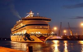 Cruise Vessel M V AID AURA Made Its 10th Call at  Mangaluru