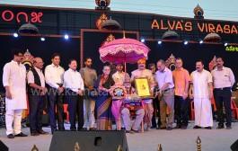 Alva's Varna Virasat Award conferred