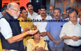 Prime Minister Narendra Modi's brother Prahlad visits Mangaluru