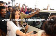 Aishwarya Rai Bachchan visits Mangaluru