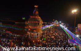 Three Chariot Festival' held  in Udupi