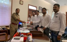 "Team ""We Are United""distributed first aid kits to Mangaluru City Police"
