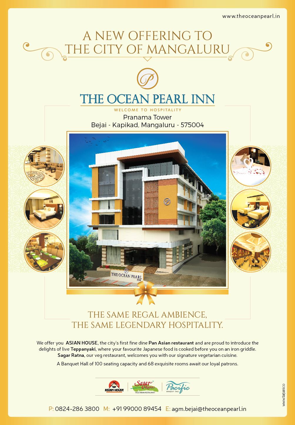 Hotel Ocean Pearl Inn Mangaluru