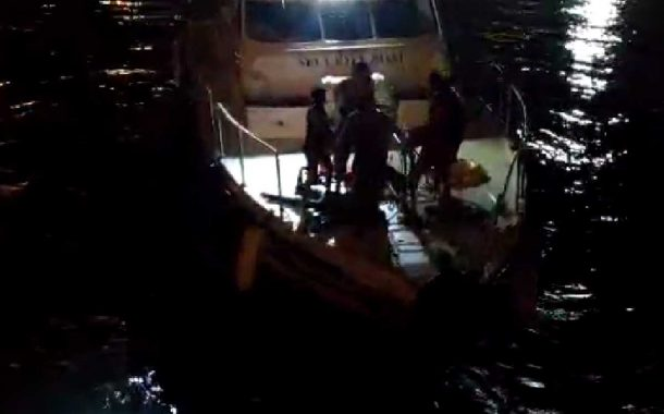 Mangaluru: container truck falls into sea at NMPT two Dead